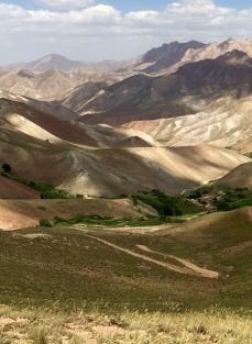 hairpin roads in the Koh-i Baba Hindu Kush
